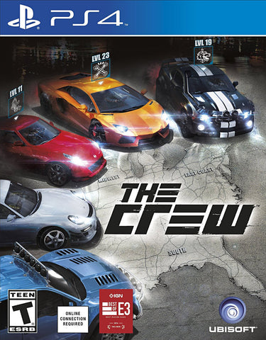 The Crew (PLAYSTATION4) PLAYSTATION4 Game