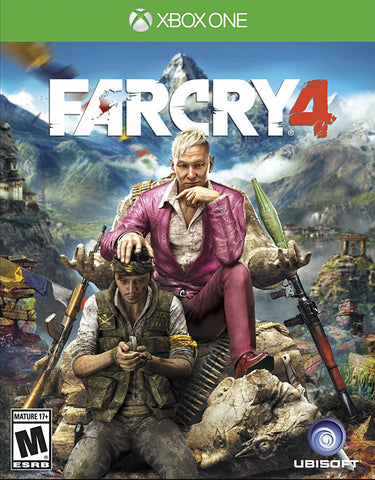 Far Cry 4 (XBOX ONE) XBOX ONE Game