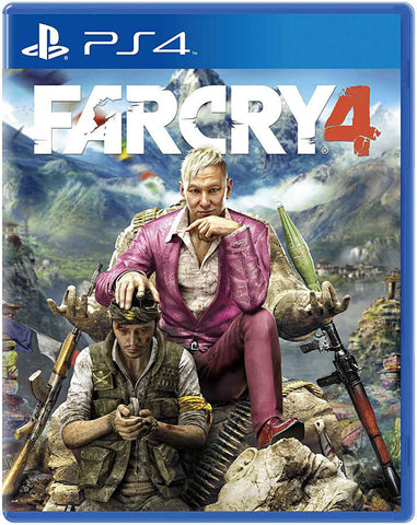 Far Cry 4 (PLAYSTATION4) PLAYSTATION4 Game