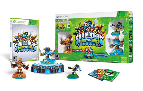 Skylanders SWAP Force Starter Pack (Bilingual Cover) (XBOX360) XBOX360 Game