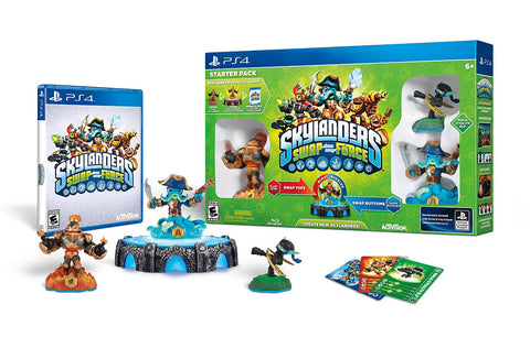 Skylanders SWAP Force Starter Pack (PLAYSTATION4) PLAYSTATION4 Game