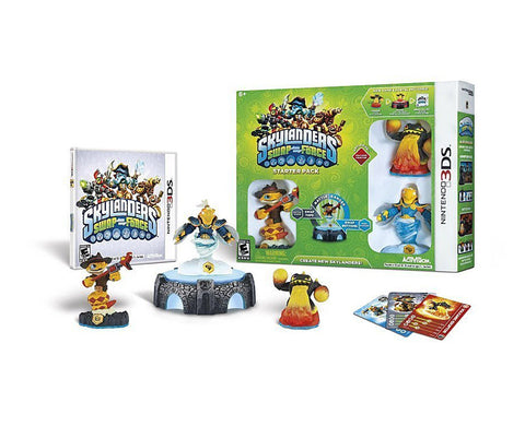 Skylanders SWAP Force Starter Pack (Bilingual Cover) (3DS) 3DS Game