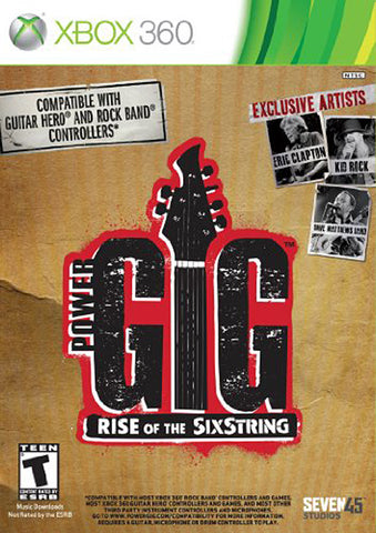 Power Gig - Rise of the SixString (Game Only) (XBOX360) XBOX360 Game