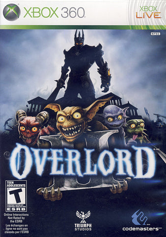 Overlord II (2) (Bilingual Cover) (XBOX360) XBOX360 Game