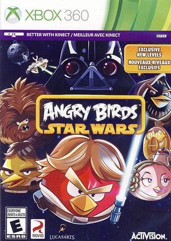 Angry Birds - Star Wars (Bilingual Cover) (XBOX360) XBOX360 Game