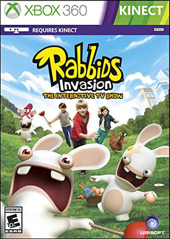 Rabbids Invasion (Kinect) (Bilingual Cover) (XBOX360) XBOX360 Game
