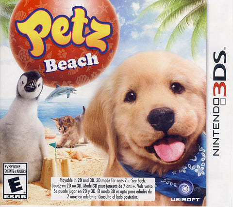 Petz Beach (3DS) 3DS Game