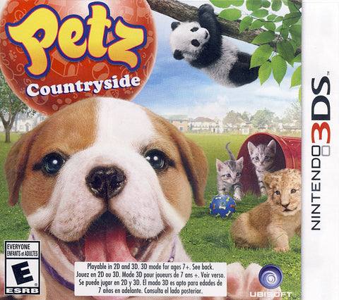 Petz Countryside (3DS) 3DS Game