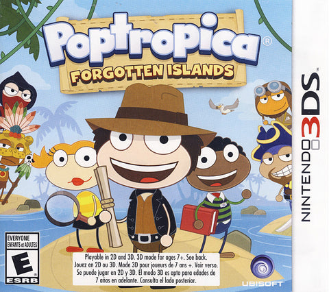 Poptropica - Forgotten Islands (Trilingual Cover) (3DS) 3DS Game