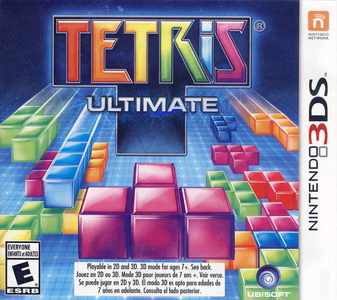Tetris - Ultimate (Trilingual Cover) (3DS) 3DS Game