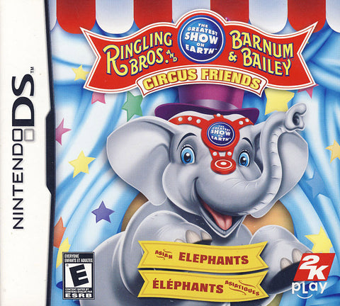 Ringling Bros And Barnum & Bailey - Circus Friends (Bilingual Cover) (DS) DS Game