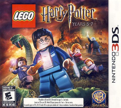 LEGO Harry Potter - Years 5-7 (Trilingual Cover) (3DS) 3DS Game