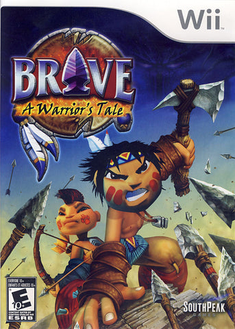 Brave - A Warrior's Tale (Bilingual Cover) (NINTENDO WII) NINTENDO WII Game