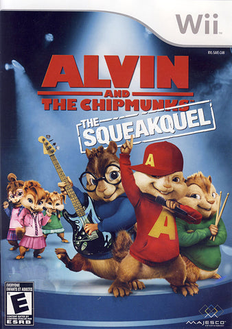 Alvin And The Chipmunks - The Squeakquel (Bilingual Cover) (NINTENDO WII) NINTENDO WII Game