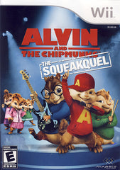 Alvin And The Chipmunks - The Squeakquel (Bilingual Cover) (NINTENDO WII)