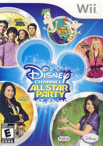Disney Channel - All Star Party (Bilingual Cover) (NINTENDO WII) NINTENDO WII Game