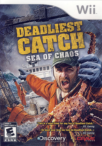 Deadliest Catch - Sea of Chaos (Bilingual Cover) (NINTENDO WII) NINTENDO WII Game
