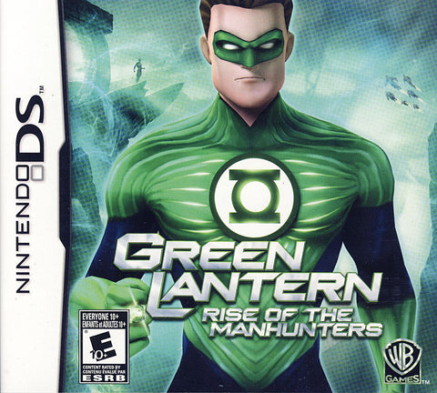 Green Lantern - Rise of the Manhunters (Bilingual Cover) (DS) DS Game
