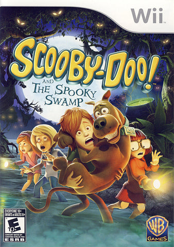 Scooby-Doo and the Spooky Swamp (Bilingual Cover) (NINTENDO WII) NINTENDO WII Game