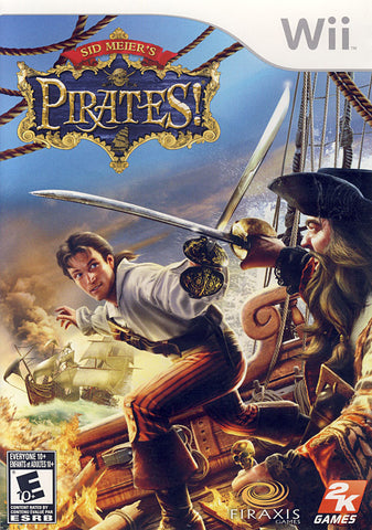 Sid Meier s - Pirates! (Bilingual Cover) (NINTENDO WII) NINTENDO WII Game