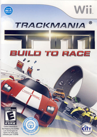TrackMania Turbo - Build to Race (Bilingual Cover) (NINTENDO WII) NINTENDO WII Game