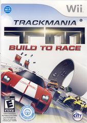 TrackMania Turbo - Build to Race (Bilingual Cover) (NINTENDO WII)
