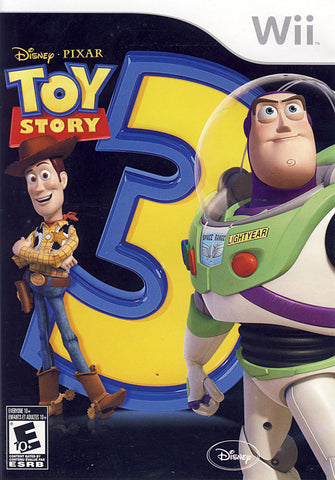 Toy Story 3 - The Video Game (Bilingual Cover) (NINTENDO WII) NINTENDO WII Game