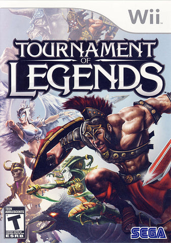 Tournament of Legends (Bilingual Cover) (NINTENDO WII) NINTENDO WII Game