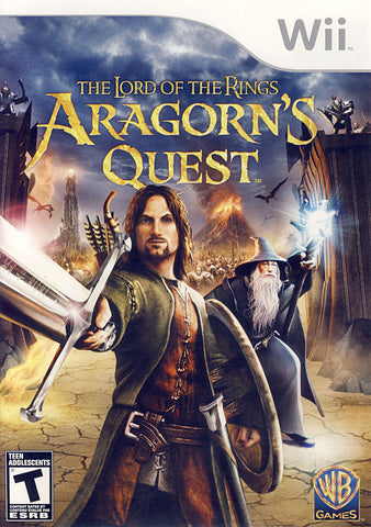 Lord of the Rings - Aragorn's Quest (Bilingual Cover) (NINTENDO WII) NINTENDO WII Game