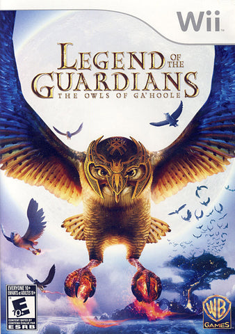 Legend of the Guardians - The Owls of Ga'Hoole (Bilingual Cover) (NINTENDO WII) NINTENDO WII Game