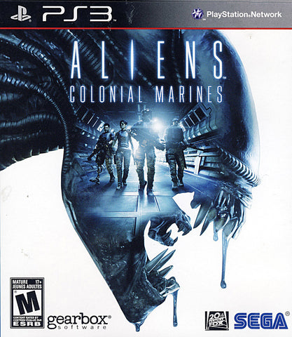 Aliens - Colonial Marines (Bilingual Cover) (PLAYSTATION3) PLAYSTATION3 Game