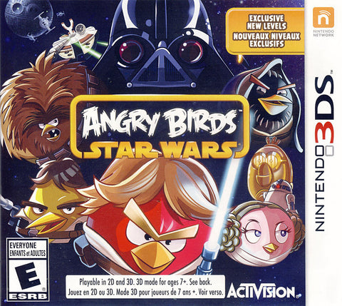 Angry Birds - Star Wars (Bilingual Cover) (3DS) 3DS Game