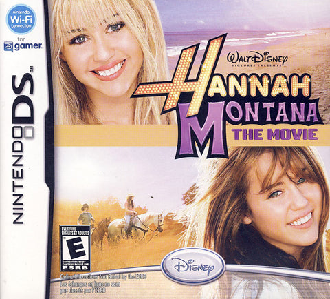 Hannah Montana - The Movie (Bilingual Cover) (DS) DS Game