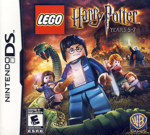 LEGO Harry Potter - Years 5-7 (Trilingual Cover) (DS) DS Game