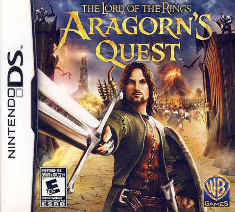 Lord Of The Rings - Aragorn's Quest (Bilingual Cover) (DS) DS Game