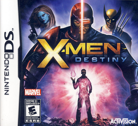 X-Men - Destiny (Bilingual Cover) (DS) DS Game