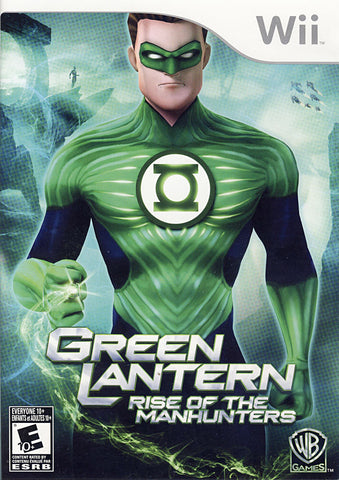 Green Lantern - Rise of the Manhunters (Bilingual Cover) (NINTENDO WII) NINTENDO WII Game