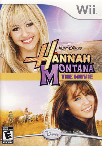 Hannah Montana - The Movie (Bilingual Cover) (NINTENDO WII) NINTENDO WII Game