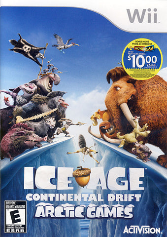 Ice Age - Continental Drift (Bilingual Cover) (NINTENDO WII) NINTENDO WII Game