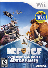 Ice Age - Continental Drift (Bilingual Cover) (NINTENDO WII)