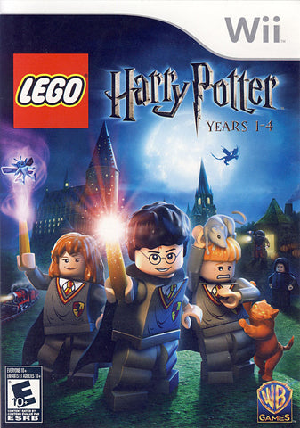 LEGO Harry Potter - Years 1-4 (Bilingual Cover) (NINTENDO WII) NINTENDO WII Game