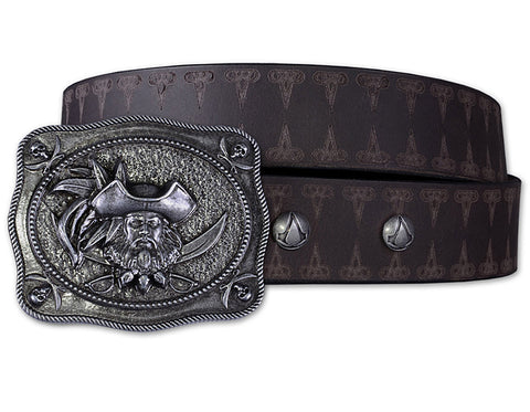 Ubisoft Unisex - Assassin s Creed IV - Blackbeard Belt - XS / S Brown (APPAREL) APPAREL Game