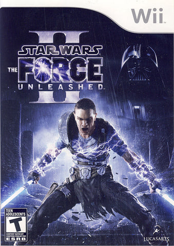 Star Wars - The Force Unleashed II (2) (Bilingual Cover) (NINTENDO WII) NINTENDO WII Game