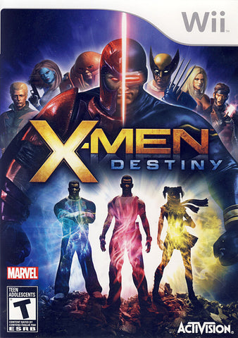 X-Men - Destiny (Bilingual Cover) (NINTENDO WII) NINTENDO WII Game