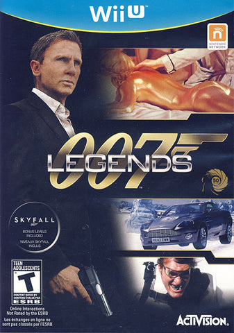 007 Legends (Bilingual Cover) (NINTENDO WII U) NINTENDO WII U Game
