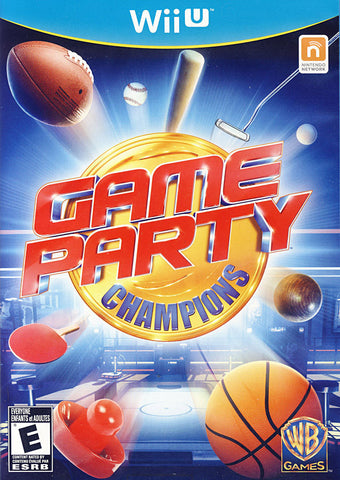 Game Party - Champions (Trilingual Cover) (NINTENDO WII U) NINTENDO WII U Game
