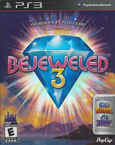 Bejeweled 3 (Bilingual Cover) (PLAYSTATION3) PLAYSTATION3 Game