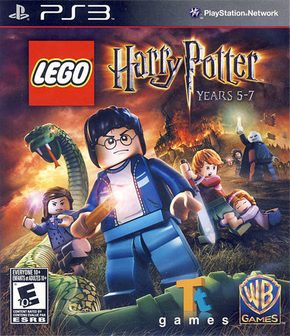 LEGO Harry Potter - Years 5-7 (Trilingual Cover) (PLAYSTATION3) PLAYSTATION3 Game