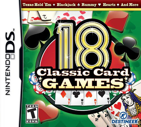 18 Classic Card Games (DS) DS Game