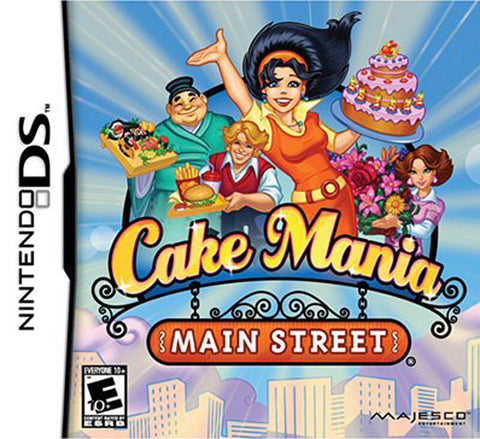 Cake Mania - Main Street (DS) DS Game